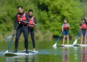 Location de paddle au lac de St Cassien