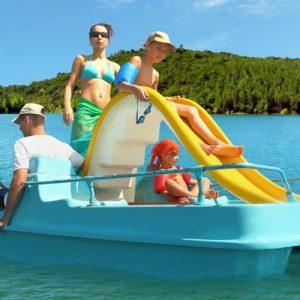 Location pédao lac St Cassien - combos journées